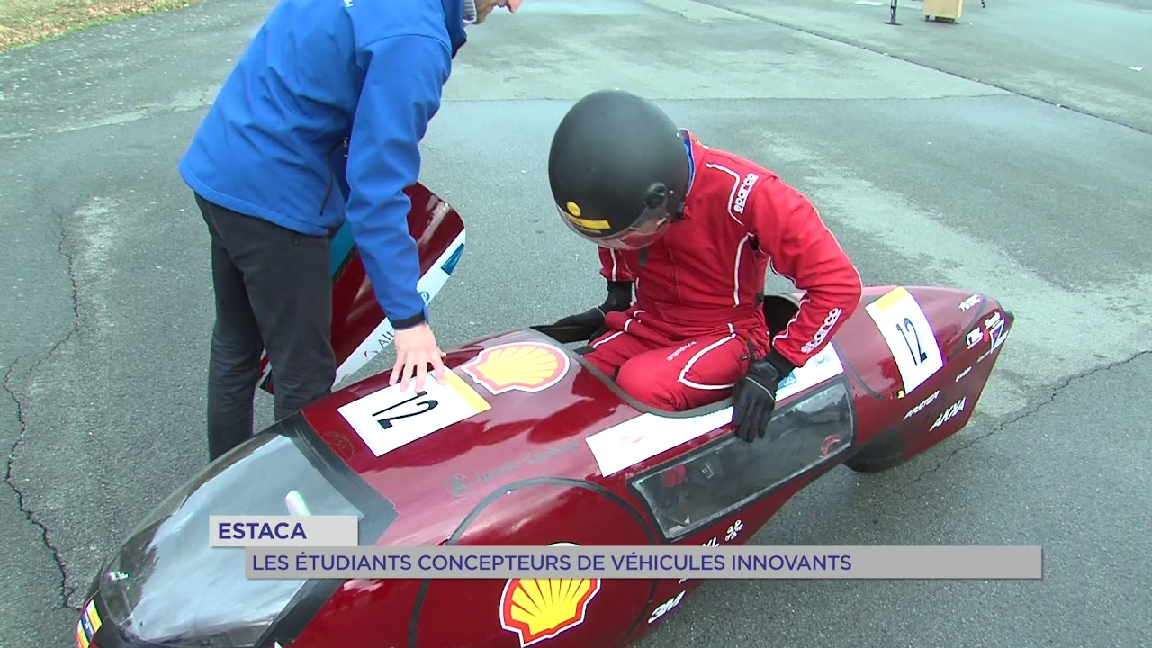 Estaca : les étudiants concepteurs de véhicules innovants