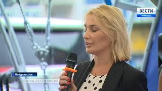 Смотреть видео Владивосток связал Пусан и Санкт-Петербург онлайн