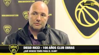 Diego Ricci - 100 Años Club Obras (09-06-2017)