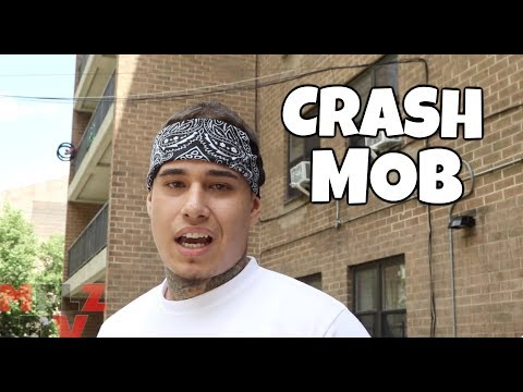BRONX RAPPERS CRASH MOB - INTERVIEW FEAT TWOTWO WOP KENZO GZ x BIG BANK HEFNER