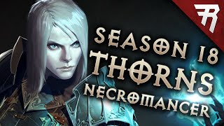 Diablo 3 Season 19 Necromancer Thorns Pet LoN / LoD build guide - Patch 2.6.7 (Torment 16 GR 140+)