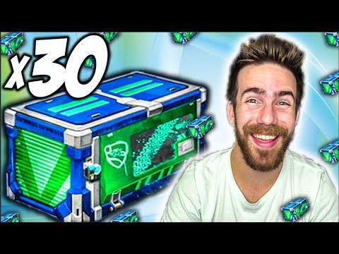 30 NEW IMPACT ROCKET LEAGUE CRATE OPENING!