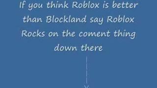 Roblox est meilleur que Blockland ?