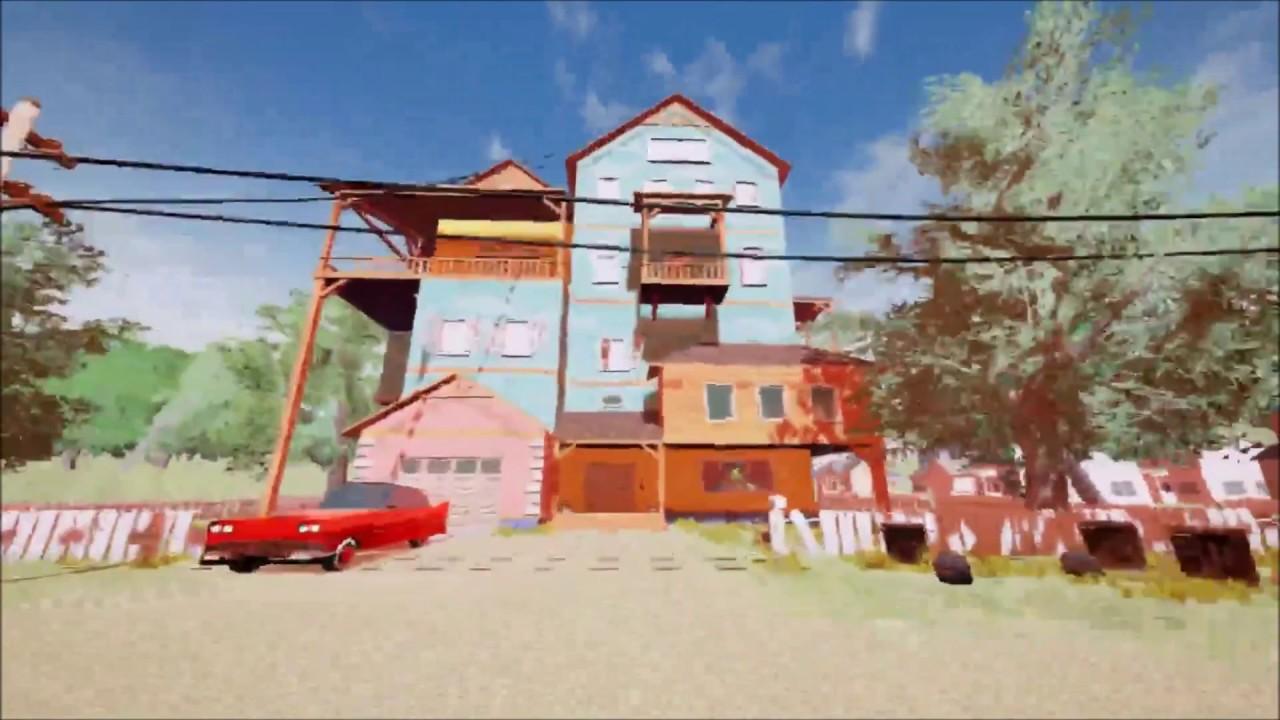 The hello neighbor house - Hello Neighbor Alpha 1 Update Opening The Basement