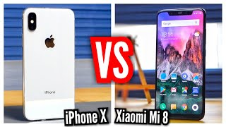 Xiaomi Mİ 8 vs iPhone X (Karşılaştırma) - 5.000 TL Fiyat Farkına Değer Mi?