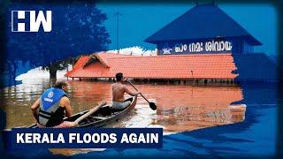 Kerala Floods: Shiva Temple In Aluva Goes Under Water, Landslide In Idukki As Heavy Rains Lash