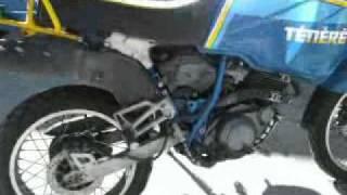 Test Motore xt 600 tenere Test Motor Moteur xt 600 ténéré
