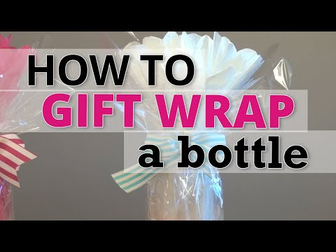How to Gift Wrap a Bottle | Nashville Wraps