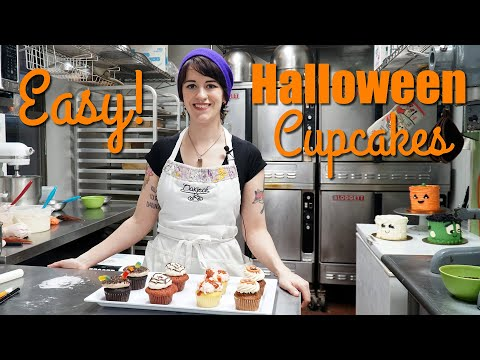 4 Easy Halloween Cupcake Ideas For Kids & Beginners