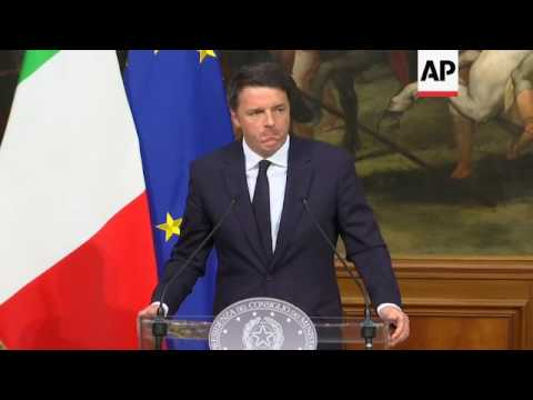 Renzi expects referendum to pass
