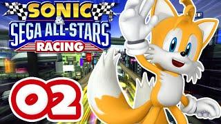 Sonic & Sega All Stars Racing #02 [XBox 360 | Expert] – Graffiti Cup