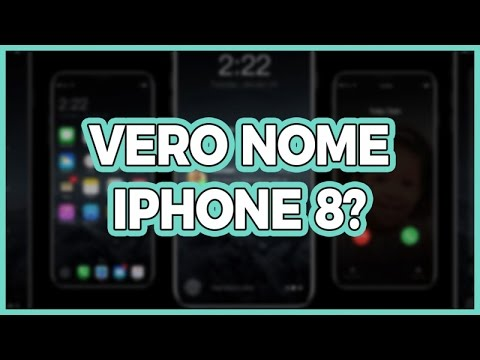 iPhone 8... non si chiamerà così!