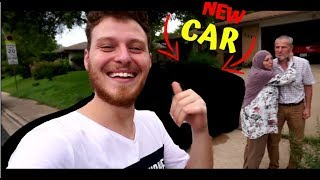 SURPRISING MY DAD WITH A BRAND NEW CAR *EMOTIONAL*