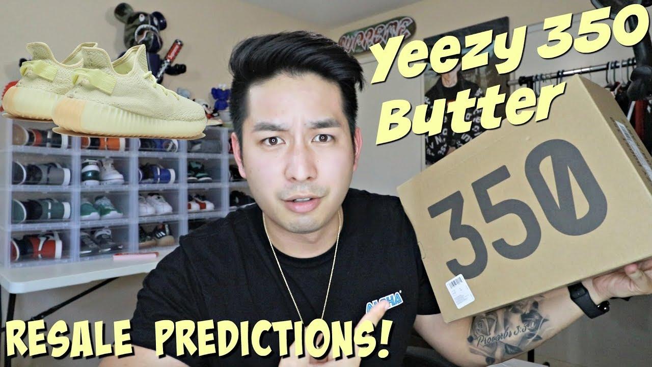 Yeezy 350 V2 Butter Resale Predictions