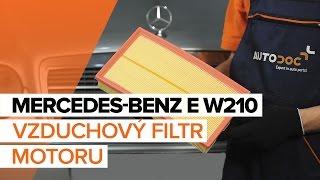 Montáž přední a zadní Brzdové Destičky MERCEDES-BENZ E-CLASS (W210): video zdarma