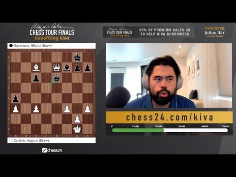 "Hikaru Nakamura: ""It was a tough match!"" | Magnus Carlsen Chess Tour Final Set 1"