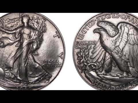 Top 10 Most Valuable Walking Liberty Half Dollars! Coin Roll Hunting
