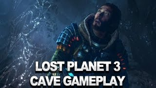 Lost Planet 3 - Cave Combat - TGS Gameplay