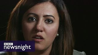 Personal stories from the war in Iraq - BBC Newsnight