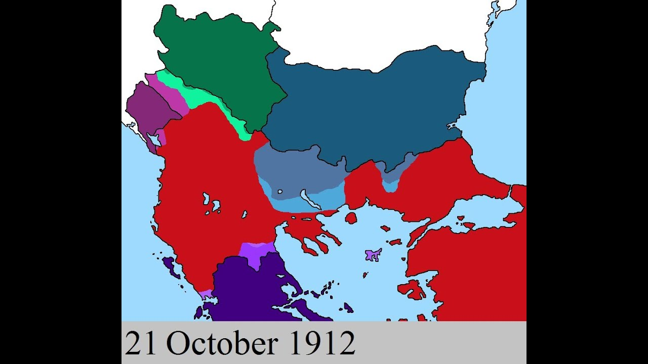 First Balkan War Youtube