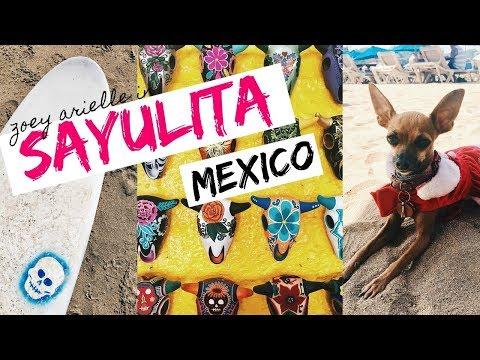 TRAVEL DIARY: SAYULITA, MEXICO