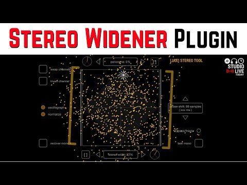 Free STEREO WIDENER plugin for iOS (iPhone/iPad)