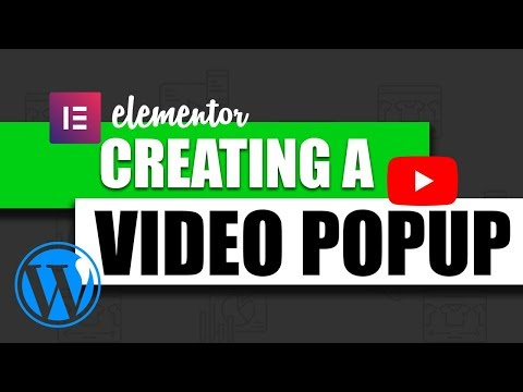 How To Create A Video Popup in Wordpress Using Elementor thumbnail