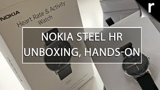 nokia Steel HR Unboxing & Hands-on Review