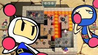 Super Bomberman R 4-Player Gameplay (Nintendo Switch)