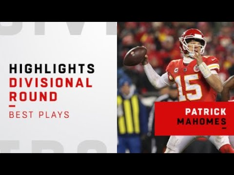 Best plays from Patrick Mahomes' playoff debut vs. Colts | AFC Divisional Round