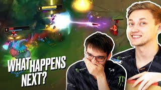 Rekkles \u0026 Hylissang try to predict YOUR plays! - What Happens Next?!
