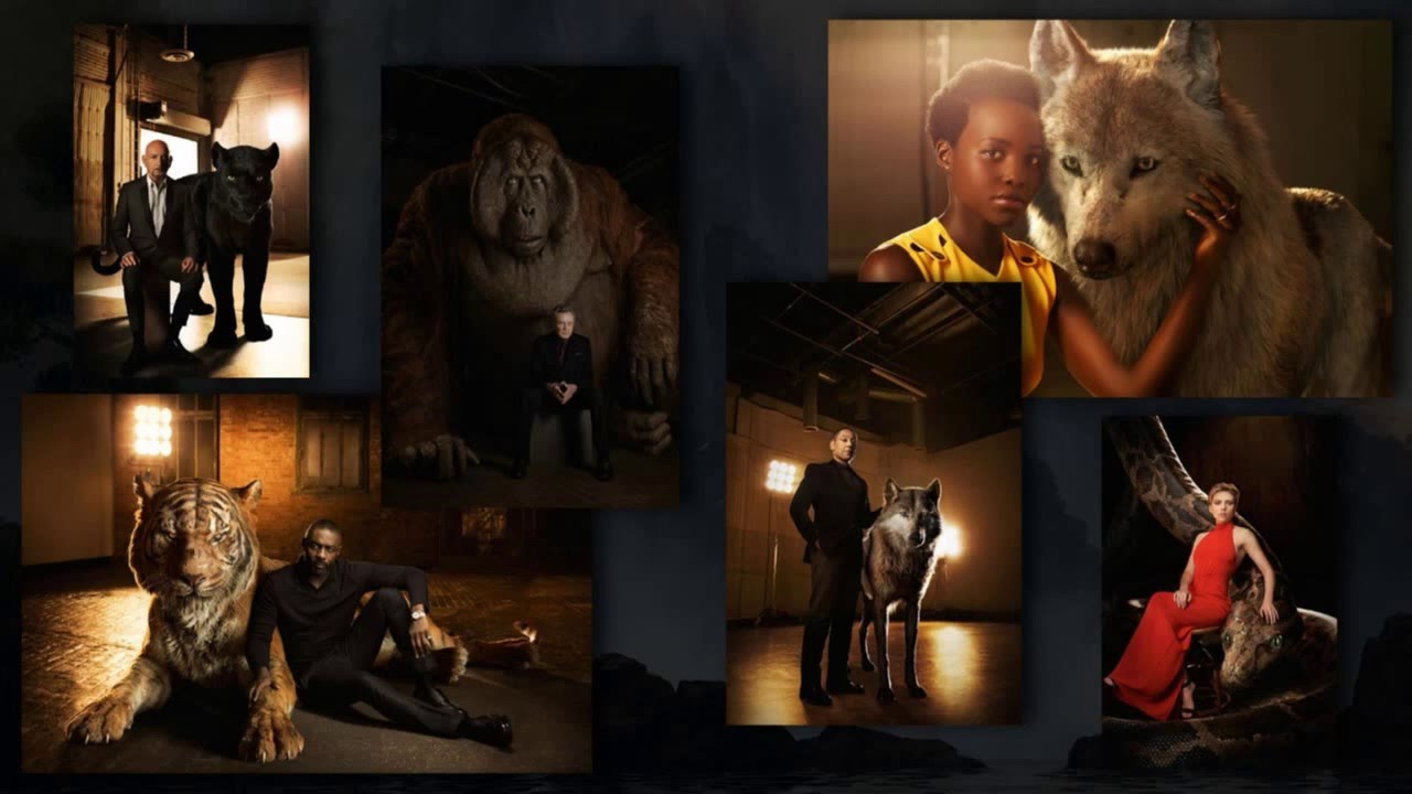 New Jungle Book Character Images Revealed Collider Youtube