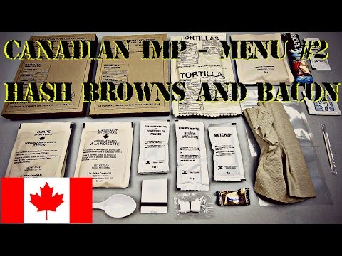 CANADIAN IMP BREAKFAST MENU #2 HASH BROWNS AND BACON, (2013) - HD 1080P