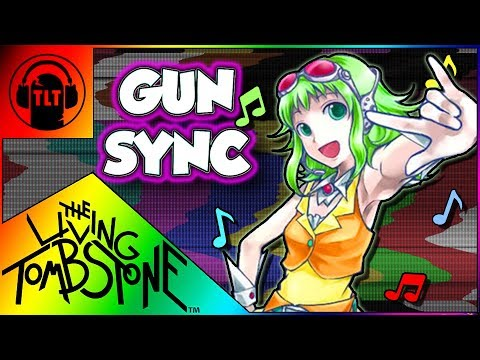 ♪ ECHO ♪ ~ Overwatch Gun Sync ~ The Living Tombstone Remix ~【Gumi English VOCALOID】