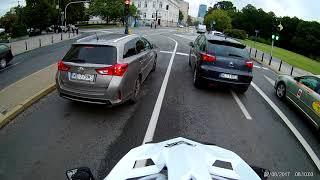 EKEN H9R Cheap Action Cam TEST - on helmet (no case) FullHD 60fps!!!