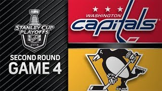 NHL 18 PS4. 2018 STANLEY CUP PLAYOFFS SECOND ROUND GAME 4: EAST CAPITALS VS PENGUINS. 05.03.2018 !