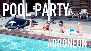 POOL PARTY | Phantom 4 4K Drone Video
