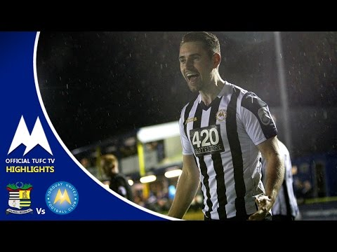 Official TUFC TV | Solihull Moors 0 - 1 Torquay United 28/03/17