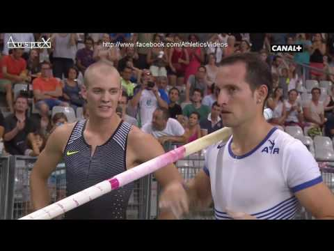 Renaud Lavillenie 5.93m Paris 2016 full contest