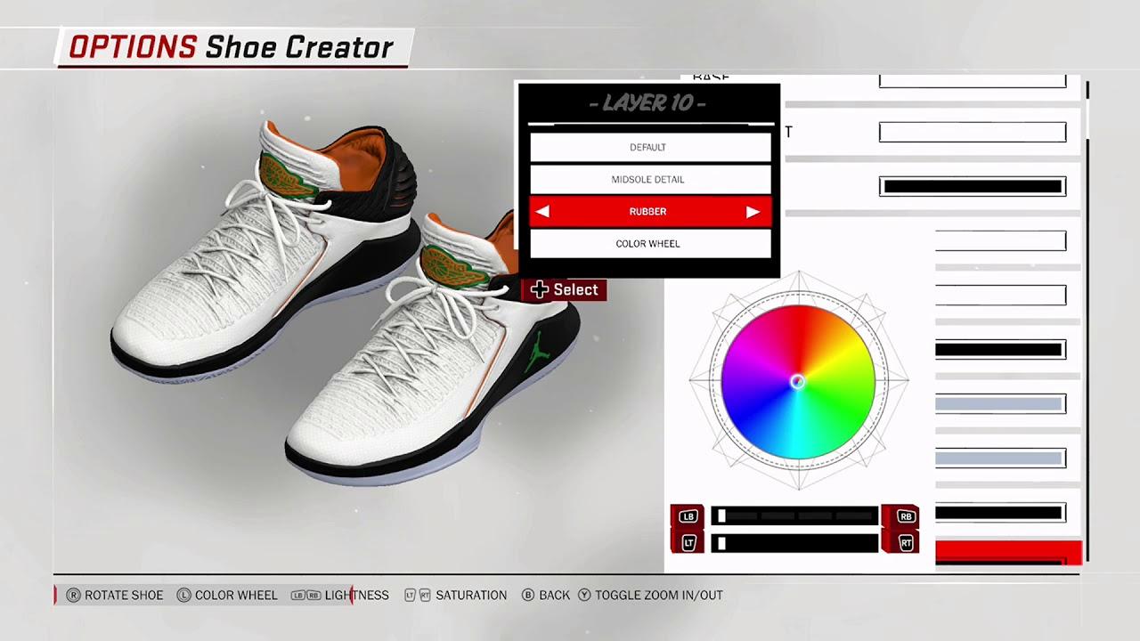 NBA 2K18 Shoe Creator - Air Jordan 32 Low