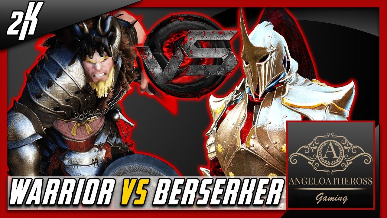 Warrior 2019 Bdo Vs berserker 2017