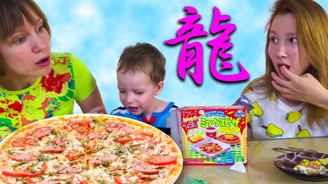 Японские сладости vs Пицца Челлендж