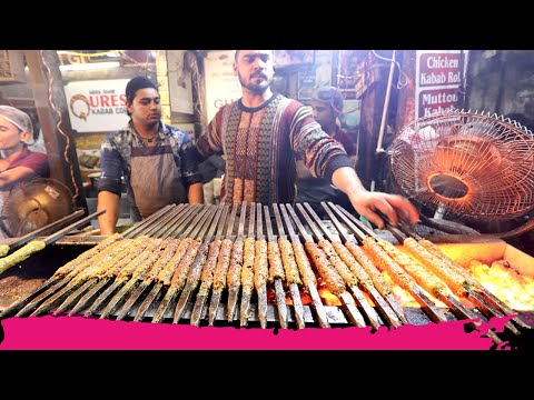 INSANELY DELICIOUS Night INDIAN STREET FOOD TOUR in Old Delhi | Delhi, India