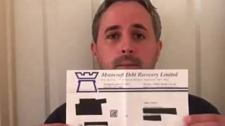 Tips to assist with debt collecting agencies / Bailiffs