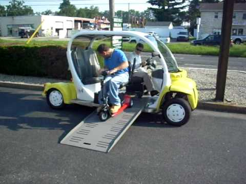 Electric Car Amkar Wheelchair Access Version Get Yours At Monmouth