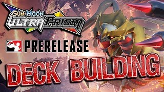 NEW Ultra Prism Prerelease Opening and Deck Building!