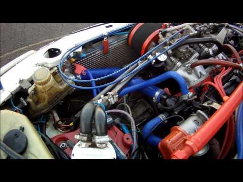Peugeot 205 GTI Rally Car