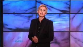 Ellen's Monologue - 02/08/10