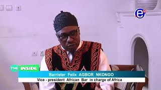 The Inside - With Barrister Nkongho Felix Agbor Balla Equinoxe tv 22 10 2017