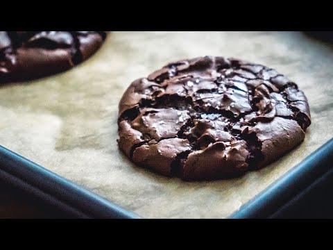 Fudgy Chocolate Brownie Cookies Recipe | BAKEN